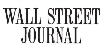 The logo of the Wall Street Journal